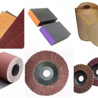 กระดาษทราย แผ่นขัด ลูกขัด (Sandpaper, Abrasive Disc, Sanding Drum)