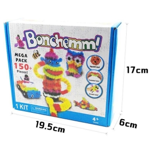 Bunchems ของเล่น ตัวต่อ เด็ก เพื่อการเรียนรู้ 150 ชิ้น