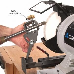 จิ๊กลับมีดกลึง - Woodturning Grinding Jig