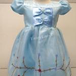 ชุดกระโปรงเด็กหญิง ชุดเจ้าหญิง Frozen เอลซ่า MB522