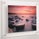 กรอบรูปติดผนัง / ป้ายโปสเตอร์ติดผนัง- Acrylic Wall Photo / Poster Frames