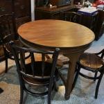 ชุดโต๊ะเชคโกขาศรพร้อมเก้าอี้4ตัว รหัส3659ck