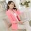 เสื้อสูทผู้หญิง เสื้อสูทใส่ทำงาน สีชมพู พร้อมส่ง L thumbnail 11