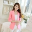เสื้อสูทผู้หญิง เสื้อสูทใส่ทำงาน สีชมพู พร้อมส่ง L thumbnail 1
