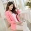 เสื้อสูทผู้หญิง เสื้อสูทใส่ทำงาน สีชมพู พร้อมส่ง L thumbnail 8