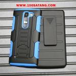 เคสมือถือ LG G4c/LG Magna เคสกันกระแทกขอบสีรุ่นเหน็บเอว แบบที่2