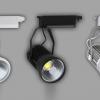 ไฟส่องเฉพาะจุดแบบราง LED Track light COB 30W B