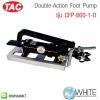 Double-Action Foot Pump รุ่น CFP-800-1-D ยี่ห้อ TAC (CHI)