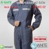 ชุดทำงานแบบชุดหมี ซิปปิด รุ่น WC-02 (Work Clothing) Made to order