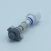 """หัวพ่นหมอกเดี่ยวเนต้าฟิล์ม 0.6 mm. + ข้อต่อพลาสติกเกลียวนอก 1/2"""" ( ใช้กับท่อ PVC 1/2"""" )"""