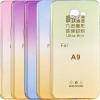 (291-031)เคสมือถือซัมซุง Case Samsung A9 Pro เคสนิ่มใสลายสีทูโทน