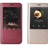 (015-006)เคสมือถือ Case Huawei G7 Plus เคสพลาสติกแบบครอบตัวเครื่องสไตล์ฝาพับเปิดข้างโชว์หน้าจอ
