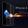 (436-436)ฟิล์มกระจก iPhone X นิรภัยเมมเบรนกันรอยขูดขีดกันน้ำกันรอยนิ้วมือ 9H