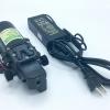 """ปั๊มน้ำ ปั๊มพ่นยา DC12V GREEN-03แรงดัน 8 บาร์ แบบเกลียวนอก 1/2"""" + Adapter 12VDC 5A 5.5 mm. x 2.5 mm. รุ่น YU1205 + แจ็ค DC ( ตัวเมีย )"""