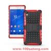 (002-081)เคสมือถือโซนี่ Case Sony Xperia M4 Aqua/Dual เคสรุ่นกันกระแทกขอบสี