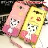 (391-007)เคสมือถือซัมซุง Grand Prime เคสนิ่มฝาหลังลายแมวน่ารักๆ DOMI CAT