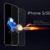 (436-437)ฟิล์มกระจก iPhone5/5s นิรภัยเมมเบรนกันรอยขูดขีดกันน้ำกันรอยนิ้วมือ 9H