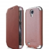 elago : G7 Genuine Leather FLIP Case Cover For Samsung Galaxy S4, S IV, i9500