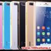 (027-284)เคสมือถือ Case Huawei Honor 6 Plus เคสโลหะขอบทูโทนฝาหลังอะคริลิคผิวมันวาว