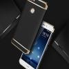 (025-1127)เคสมือถือ Case Huawei Nova เคสพลาสติกสีสดใสขอบทองแววสไตล์แฟชั่น
