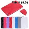 (034-006)เคสมือถือซัมซุง Case Samsung Galaxy Tab 3 8.0 นิ้ว เคสนิ่มใส