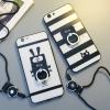 (025-1019)เคสมือถือ Case OPPO R9s Plus/R9s Pro เคสนิ่มคลุมรอบลายกระต่ายดำ/แมวดำน่ารัก แบบมีแหวนมือถือ/ไม่มีแหวนมือถือ พร้อมสายคล้องคอถอดแยกสายได้