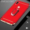 (025-1213)เคสโทรศัพท์มือถือหัวเว่ย Case Huawei Nova3e/P20lite เคสพลาสติกขอบชุบแววแฟชั่น