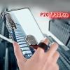 (718-004)เคสโทรศัพท์มือถือ Case Huawei P20 เคสนิ่มใสแฟชั่นด้านหลังสายคล้องมือสีสวยๆ