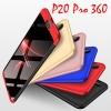 (025-1207)เคสโทรศัพท์มือถือหัวเว่ย Case Huawei P20 Pro เคสพลาสติกคลุมเครื่องกันกระแทก 360 องศา