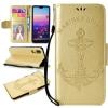 (436-464)เคสโทรศัพท์มือถือหัวเว่ย Case Huawei Nova3e/P20lite เคสนิ่มสไตล์สมุดเปิดข้างลายสมอเรือ