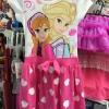 HM ชุดกระโปรงผ้ายืดเจ้าหญิง Frozen ใส่ลำลอง น่ารักดีค่ะ (งานติดไซส์ผิด) size น้องประมาณ 4-8 ปี