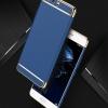 (025-1131)เคสมือถือ Huawei P10 เคสพลาสติกสีสดใสขอบทองแววสไตล์แฟชั่น