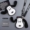 (545-011)เคสมือถือวีโว Vivo V5 lite/Y66/Y66L เคสนิ่มหมา snoopy หูผ้านิ่ม