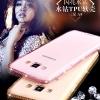(360-012)เคสมือถือซัมซุง Case Samsung A8 เคสนิ่มใสขอบประดับคริสตัลเพชร