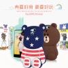 (013-007)เคสมือถือออปโป้ OPPO N1mini เคสนิ่มตัวการ์ตูนกระต่ายและหมี 3D