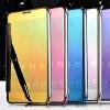 (390-008)เคสมือถือซัมซุง Case Samsung A9 Pro เคสพลาสติกใสสไตล์ Clear View สุดหรู