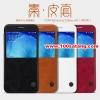 (385-015)เคสมือถือซัมซุง Case Samsung A8 เคสพลาสติกฝาพับ PU NILLKIN Qin Series