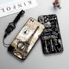 (025-1182)เคสโทรศัพท์มือถือหัวเว่ย Case Huawei P Smart เคสขอบนิ่มพื้นหลังพลาสติกลาย 3D สวยๆ