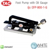 Foot Pump with Oil Gauge รุ่น CFP-800-1-G ยี่ห้อ TAC (CHI)