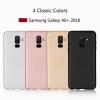 (436-466)เคสโทรศัพท์มือถือซัมซุง Case A6+/Plus 2018 เคสนิ่มลายคาร์บอนไฟเบอร์