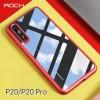 (729-002)เคสโทรศัพท์มือถือหัวเว่ย Case Huawei P20 Pro เคสขอบยางพื้นหลังพลาสติกใสสไตล์ ROCK