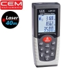 RF05 –Laser Distance Meter เครื่องวัดระยะ 40 เมตร วัดพื้นที่ ปริมาตร LDM-40