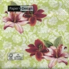 กระดาษแนปกิ้น เดคูพาจ Flower 21465