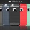 (025-1104)เคสมือถือไอโฟน Case iPhone 6Plus/6S Plus เคสนิ่ม tpu กันกระแทกแฟชั่นพื้นผิวลายโลหะ