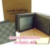 Louis Vuitton Damier Graphite Canvas Wallet N60780 [หนังแท้]