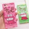 (151-359)เคสมือถือไอโฟน case iphone 5/5s/SE เคสนิ่มซองขนม crayon dinosaur