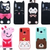 (006-059)เคสโทรศัพท์มือถือหัวเว่ย Case Huawei P20 Pro เคสนิ่ม 3D น่ารักๆ