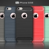 (025-1095)เคสมือถือไอโฟน case iphone 5/5s/SE เคสนิ่ม tpu กันกระแทกแฟชั่นพื้นผิวลายโลหะ