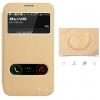 (516-020)เคสมือถือ Samsung Galaxy Note2 เคสพลาสติกฝาพับโชว์หน้าจอลายหนัง
