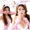 รหัส bunny girl11 สีชมพู ชุดคอสเพลย์เซ็กซี่บันนี่